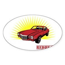 red headswhite Decal