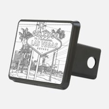 LasVegas_10x10_WelcomeSign Hitch Cover