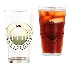 alu rune shield. Drinking Glass
