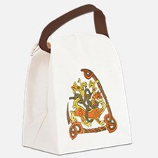 jelling rune stone Canvas Lunch Bag