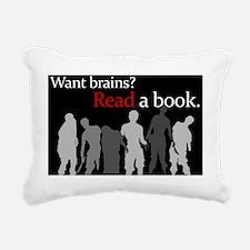 zombies copy Rectangular Canvas Pillow