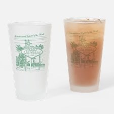 LasVegas_10x10_WelcomeSign_Green Drinking Glass