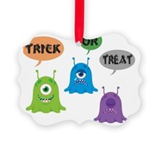 Trick Or Treat Tote Ornament