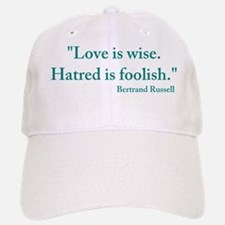 Love is Wise Baseball Baseball Cap