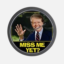 Miss-Me-Yet-Jimmy-Carter Wall Clock