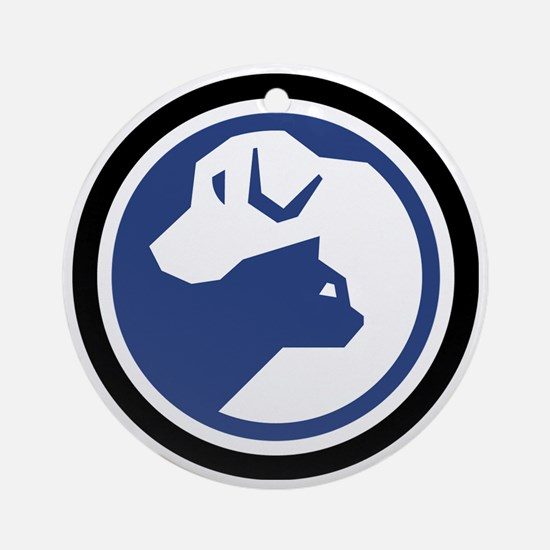 SPCA logo 2013.gif Round Ornament