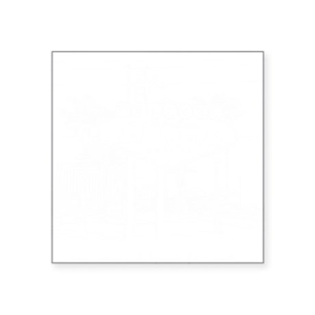 "LasVegas_10x10_WelcomeSign_ Square Sticker 3"" x 3"""