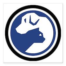 "SPCA logo 2013.gif Square Car Magnet 3"" x 3"""