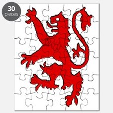 Scottish red lion rampant Puzzle