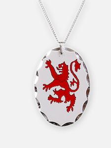 Scottish red lion rampant Necklace
