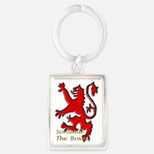Scotland the brave Portrait Keychain