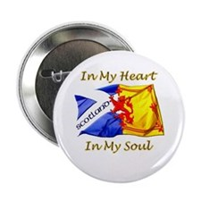 """scotland heart and soul 2.25"""" Button"""