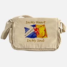 in my heart scotland darks Messenger Bag