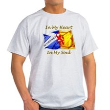 in my heart scotland darks T-Shirt