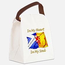 in my heart scotland darks Canvas Lunch Bag
