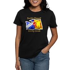 in my heart scotland darks Tee