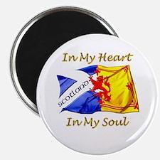 in my heart scotland darks Magnet