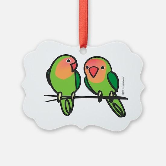 lovebirds Ornament