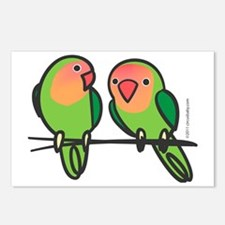 lovebirds Postcards (Package of 8)