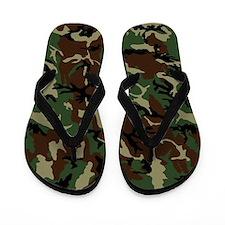 camo_13-5x18v Flip Flops