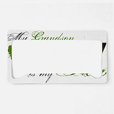 grandson License Plate Holder