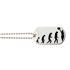 evolutioncheerleader2 Dog Tags