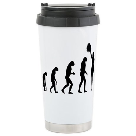 evolutioncheerleader2 Stainless Steel Travel Mug