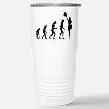 evolutioncheerleader2 Travel Mug