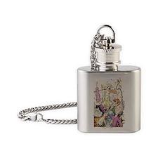 Jamboreen_greetingcard Flask Necklace