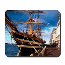 Italian Tall Ship Amerigo Vespucci and H Mousepad