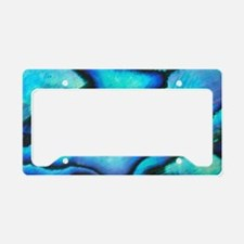 Paua Shell (Abalone) License Plate Holder