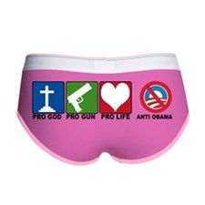 anti obama BS Women's Boy Brief