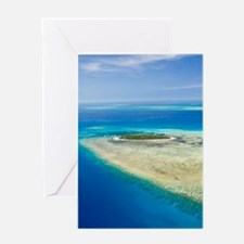 Cairns Area. The Great Barrier Reef- Greeting Card