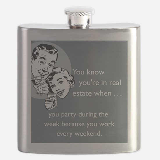 Party Like an Agent iPhone Flask