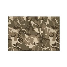 camo-tan_18x12-5 Rectangle Magnet