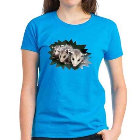 Possum Trio Women's Dark T-Shirt