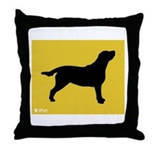 Labrador iPet Throw Pillow