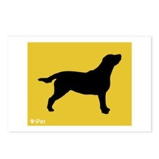 Labrador iPet Postcards (Package of 8)