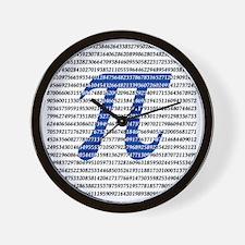 1018-digits-of-pi-1-black copy Wall Clock