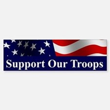 Support Our Troops Bumper Bumper Bumper Sticker