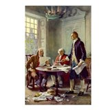 Founding fathers Postcards