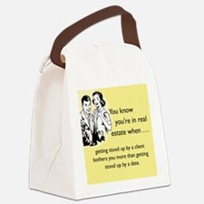 Stood Up iPhone Canvas Lunch Bag