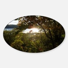 Down East Maine Sticker (Oval)