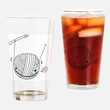 woo onesie Drinking Glass