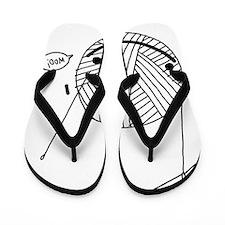 woo onesie Flip Flops