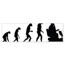 evolutionretirement Bumper Bumper Sticker