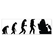 evolutionretirement Bumper Sticker