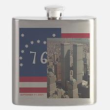 WTC-Complex-Atop-Bennington-Flag-14b14 Flask
