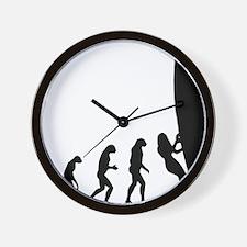 evolution surfing9 Wall Clock