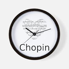 Chopin pillow Wall Clock